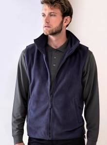 Bezrękawik męski model Micro-Fleece