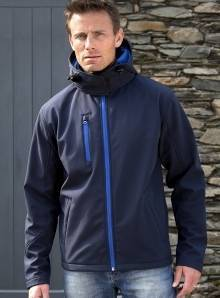 Kurtka męska model Performance Hooded Soft Shell