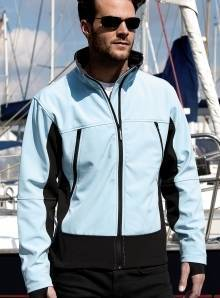 Kurtka softshell model męski Activity