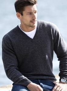 Sweter męski model V-Neck Jumper